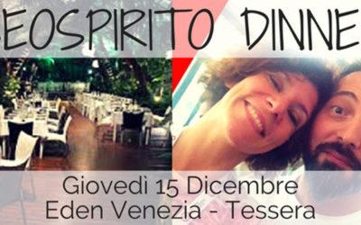 SEO Spirito Dinner: un mix di formazione, networking e stuzzichini