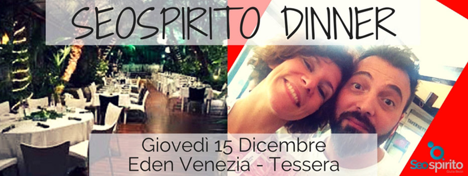 seo spirito dinner, SEO Spirito Dinner: un mix di formazione, networking e stuzzichini, Hospitality Team, Hospitality Team