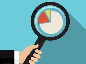 lente analizza dati trend
