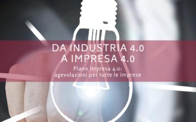 Da Industria 4.0 a Impresa 4.0