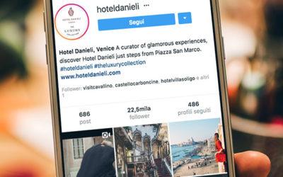I contenuti per il profilo Instagram Business del tuo hotel