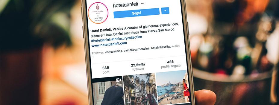 Instagram Business, I contenuti per il profilo Instagram Business del tuo hotel, Hospitality Team, Hospitality Team