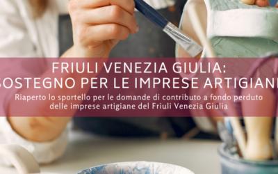 Friuli Venezia Giulia: sostegno per le imprese artigiane