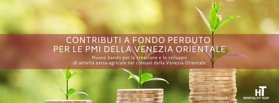 contributo, Contributo a fondo perduto fino al 40% per le imprese della Venezia Orientale, Hospitality Team, Hospitality Team