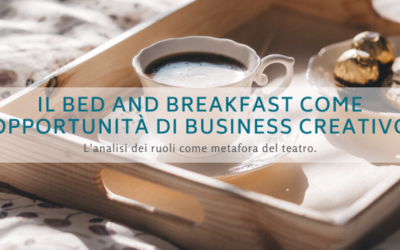 Il bed and breakfast come opportunità di business creativo