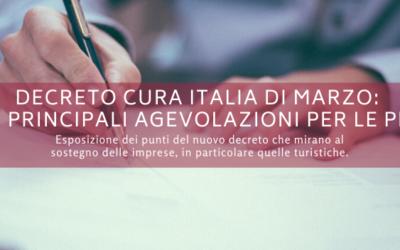 Decreto Cura Italia di marzo: le principali agevolazioni per imprenditori e autonomi