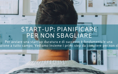 Start-up: pianificare per non sbagliare