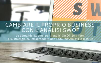 Cambiare il proprio business con l'analisi SWOT