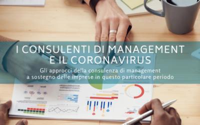 I consulenti di management e il Coronavirus: alcuni aspetti da gestire con i clienti