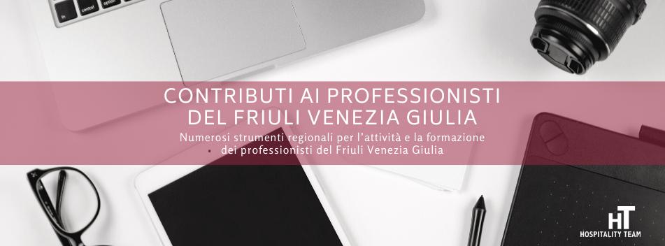 professionisti, Contributi ai professionisti del Friuli Venezia Giulia, Hospitality Team, Hospitality Team