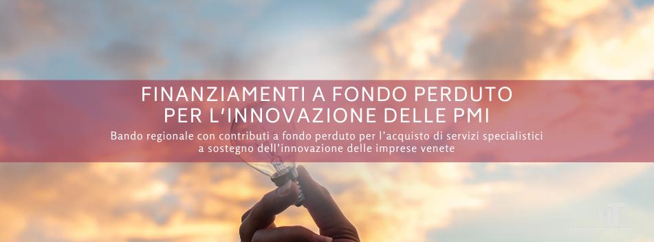innovazione, Finanziamenti a fondo perduto per l'innovazione delle PMI del Veneto, Hospitality Team, Hospitality Team