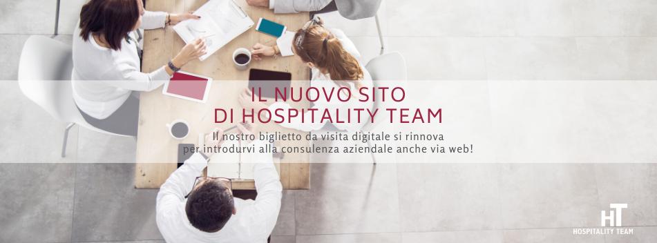 consulenza aziendale, Il sito di consulenza aziendale firmato Hospitality Team si rinnova, Hospitality Team, Hospitality Team