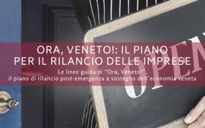 Ora, Veneto!: il piano di interventi economici per il rilancio delle imprese venete
