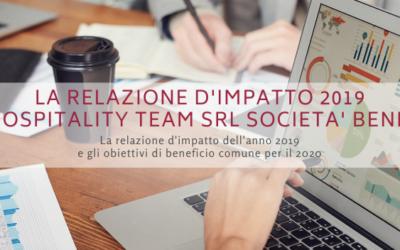 La relazione d'impatto 2019 di Hospitality Team Srl Società Benefit