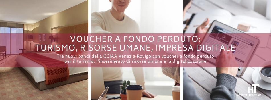 voucher, Voucher a fondo perduto: turismo, risorse umane, impresa digitale, Hospitality Team, Hospitality Team