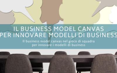 Il business model canvas per innovare modelli di business