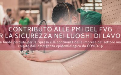 Contributo alle imprese del Friuli-Venezia-Giulia per la sicurezza nei luoghi di lavoro