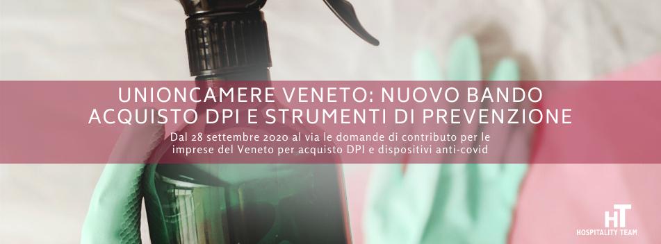 acquisto dpi, Unioncamere del Veneto: nuovo bando acquisto DPI e strumenti di prevenzione, Hospitality Team, Hospitality Team
