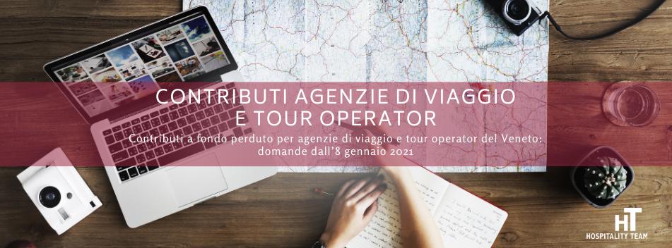 contributi agenzie di viaggio, Contributi agenzie di viaggio e tour operator del Veneto colpiti dall'emergenza da Covid-19, Hospitality Team, Hospitality Team