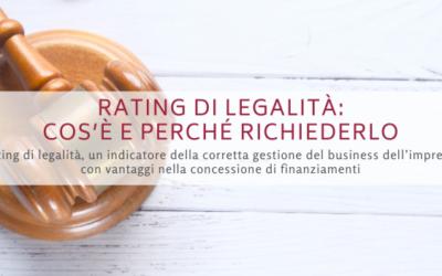 Rating di legalità: cos'è e perché richiederlo