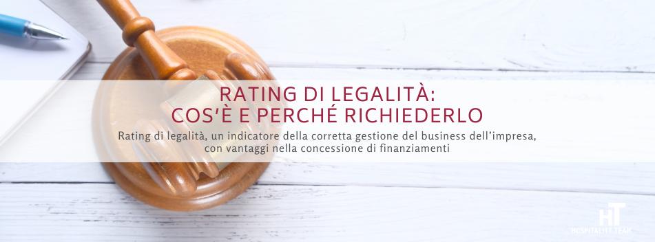 rating di legalità, Rating di legalità: cos'è e perché richiederlo, Hospitality Team, Hospitality Team