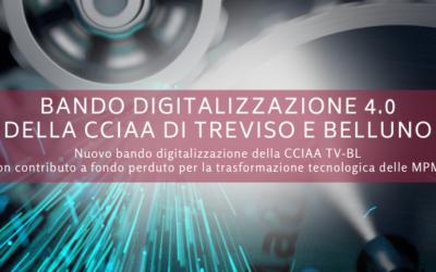 Bando digitalizzazione 4.0 della CCIAA di Treviso e Belluno