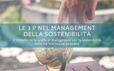 Le 3 P nel management della sostenibilità