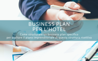 Business plan per l'hotel