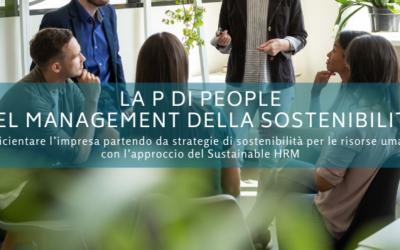 La P di People nel management della sostenibilità