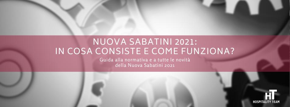 nuova sabatini, Nuova Sabatini 2021: in cosa consiste e come funziona?, Hospitality Team, Hospitality Team